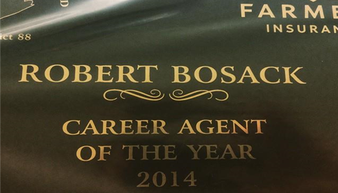 Robert Bosack - <pre>Honored to receive this award.</pre>