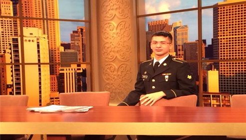 Roberto Castro - <pre>The agent Roberto Castro servicing our country at the Windy City Live Studios!</pre>