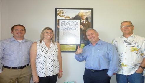 Roger Heighton - <pre>Heighton Agency staff in Burlingame, CA 2014</pre>