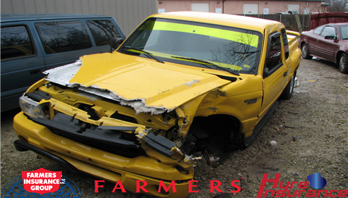 Ronald Hyre - <pre>Had an accident? I did. Farmers® took care of me, and they will you too.</pre>