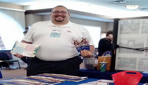 Ronald Hyre - <pre>Health Expo,Me with Farmers® Child ID Kits!</pre>
