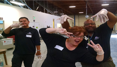 Ruth Stroup - <pre>The Insurance Lady & her team volunteering at the food bank!</pre>