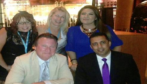 Shakeel Ahmed - <pre>At Las Vegas Topper Club Celebration</pre>