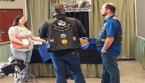 Scott Porterfield - <pre>Bike Show Booth</pre>