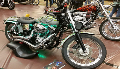 Scott Porterfield - <pre>Bike Show 2015</pre>