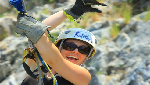 Sarah Seigart - <pre>Zip line tour was a blast! If you like going let me know I would love to join.</pre>