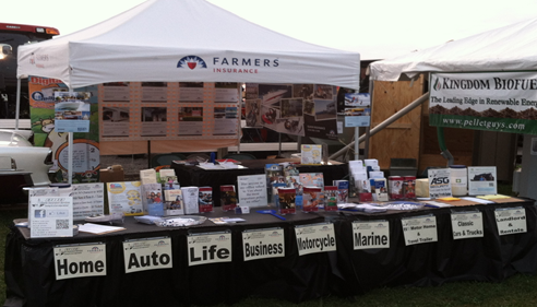 Scott Slavin - <pre>Our display at the 2014 Cecil County Fair.</pre>