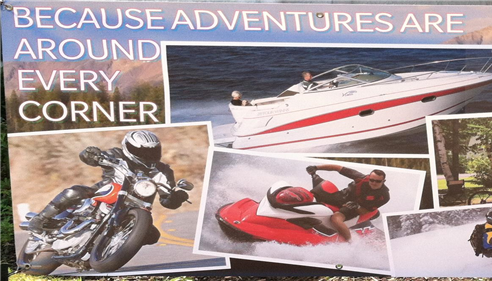 Scott Slavin - <pre>Motorcycles, Boats, RV&rsquo;s, Travel Trailers, ATV&rsquo;s, PWC, Snowmobile...NO Problem</pre>