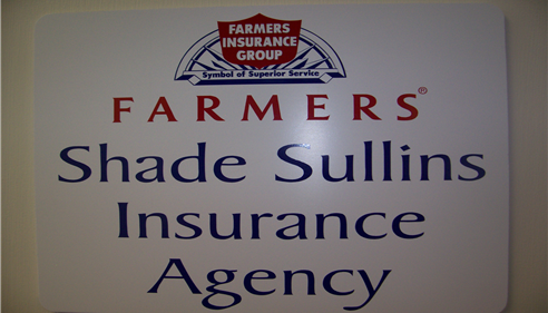 Shade Sullins - My Agency Sign