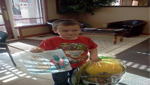Susan Walters - <pre>Winner of Home Show Easter Basket coloring contest!</pre>