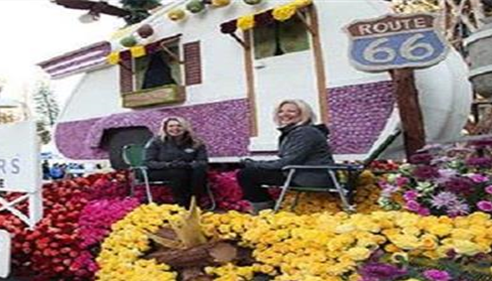Sandy Widmer - <pre>Deborah Hoffman & Sandy Wimder on the &quot;Along for the Ride &quot; Farmers® Float 2016</pre>