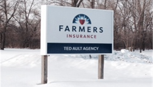 Ted Ault - <pre>The new sign for our agency!</pre>