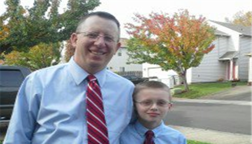 Trent Brown - <pre>Father and Son</pre>