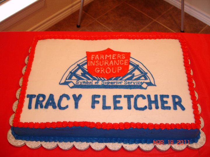 Tracy Fletcher - <pre>Cake for open house at new location 101 Canyon Lake Circle in Lumberton TX 77657</pre>