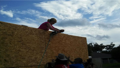 Tracy Fletcher - <pre>Habitat for Humanity May 2013</pre>