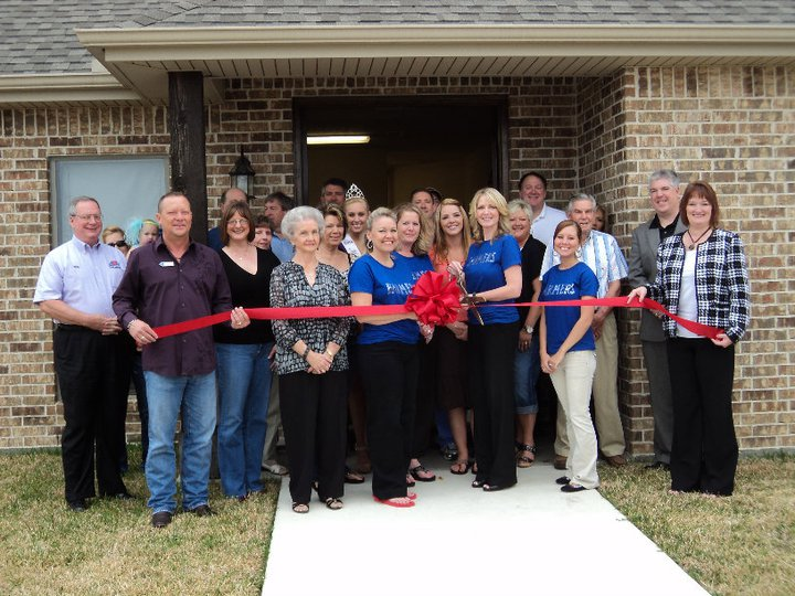 Tracy Fletcher - <pre>Ribbon cutting at new office in Lumberton.</pre>