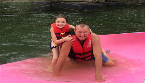 Thomas Pollard - <pre>Lake fun with my granddaughter!</pre>