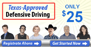 Texas-Approved Online Defense Driving