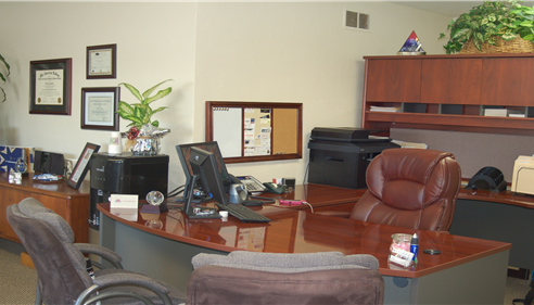 Terry Snow - Our new office. Stop by for a visit.