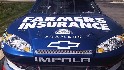 Vincent Simonelli - <pre>Kasey Kahne Farmers NASCAR</pre>