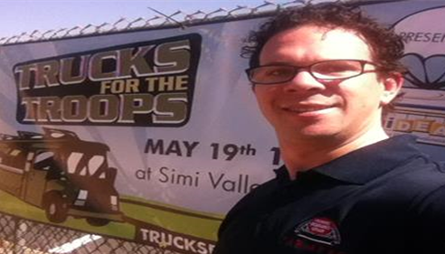 Zachary Schneiderman - <pre>Trucks for the Troops<br />Farmers® Insurance, Simi Valley, California</pre>