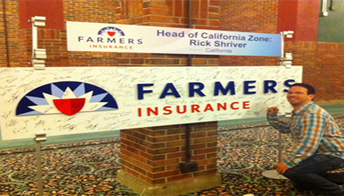 Zachary Schneiderman - <pre>Championship 2013 - New Farmers® Insurance Logo revealed</pre>