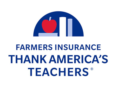 John Evans - Have you thanked a teacher today? Go to: <a href=https://www.farmers.com/thank-americas-teachers/ target=_blank title=Thank Teachers>https://www.farmers.com/thank-americas-teachers/</a>